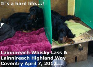 Brodie & Whisky April 2012