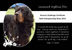 Lainnireach Highland Mis - Tyber RCC May 2014 Bath